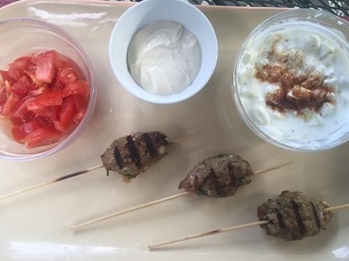 Lamb Kofta Kebabs<br>Yeilds 20 Kebabs