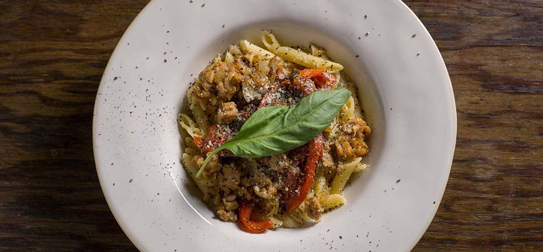 Penne Pasta With Sicilian Sausage