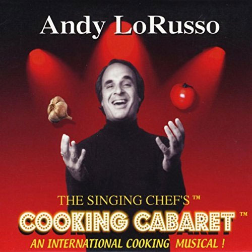 Andy's Cooking Cabaret Audio CD cover