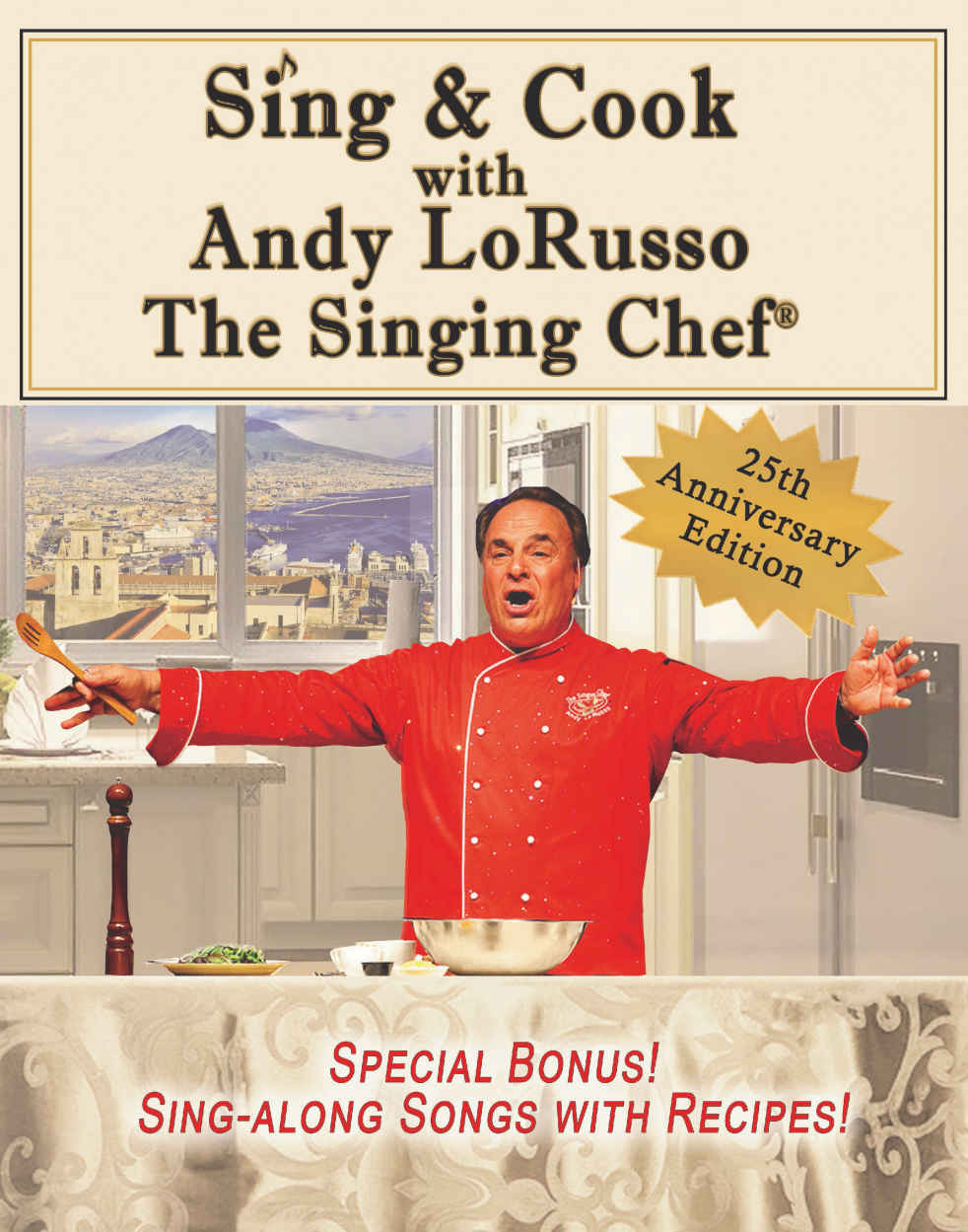 Andy's Sing & Cook Book front cover